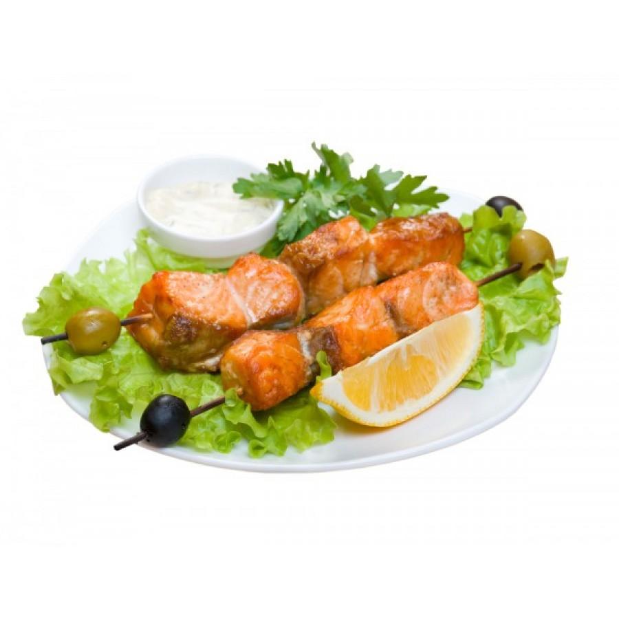 Шашлык из рыбы с