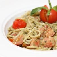 "Cпагетти с соусом ""Песто"""